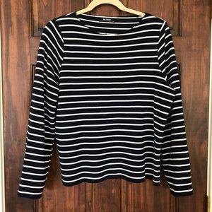 Nautical Stripe Sweatshirt
